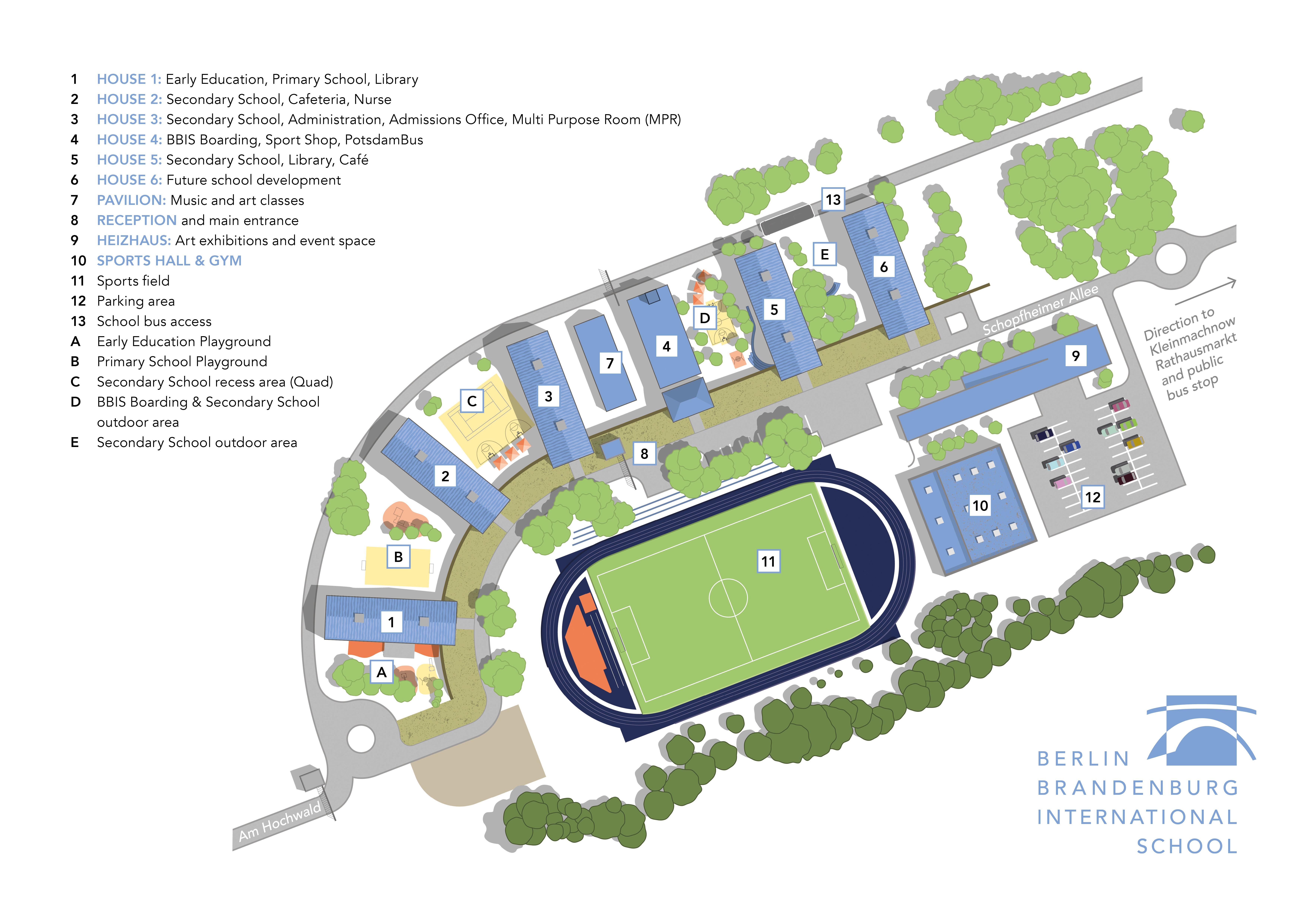 BBIS Campus Map